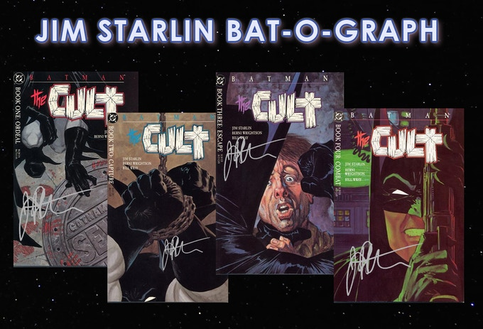 Batman: The Cult #1-#4 Signed by Jim Starlin