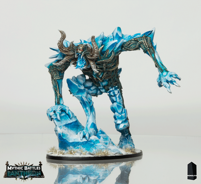 Sculpted by Arnaud Boudoiron and painted by Martin Grandbarbe