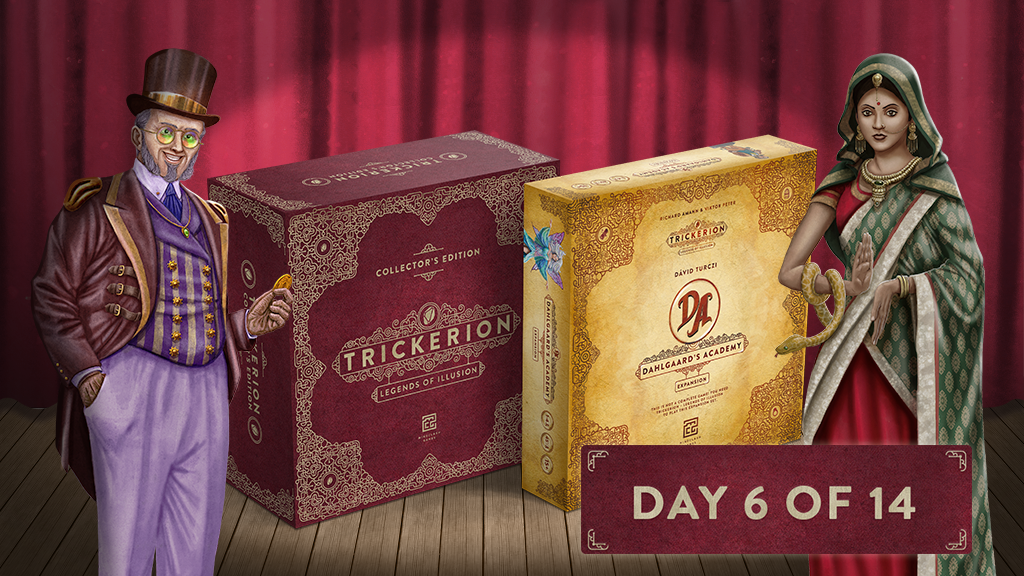 Trickerion – Dahlgaard's Academy and Collector's Edition