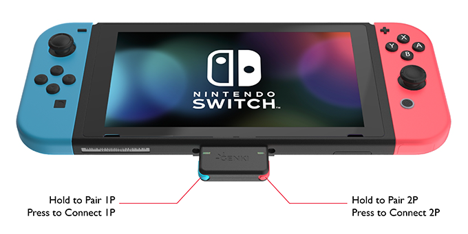 GENKI: Bluetooth Audio for the Nintendo Switch by Human Things