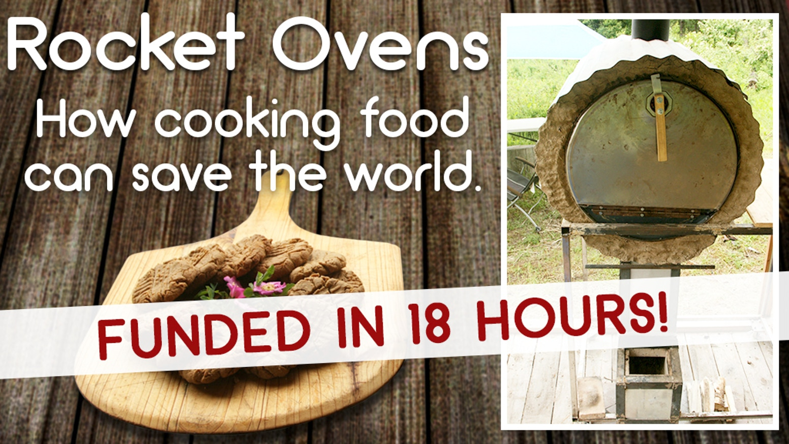 Build an oven powered by just a few twigs from your yard. The carbon footprint is about 1% that of an electric oven.