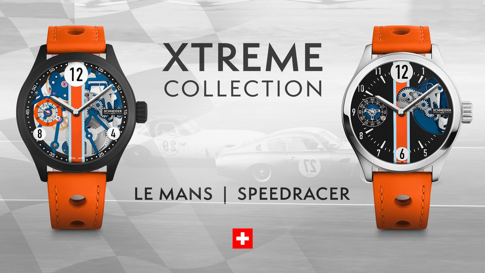 Schneider Co Le Mans Sdracer Aluminum Swiss Watches