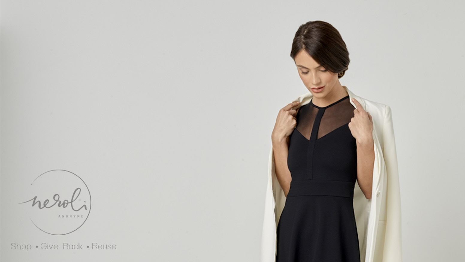 1 Dress, 3 Styles. The perfect dress from work hour to happy hour. Say NO to fast fashion and join our slow fashion revolution.