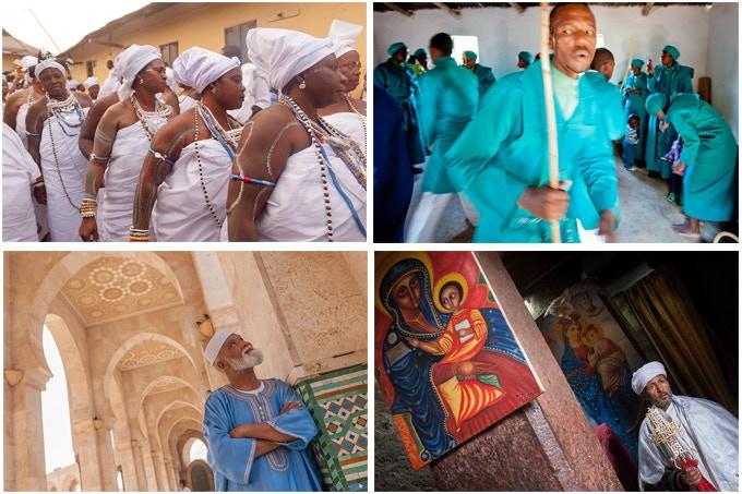 Ghana, Swaziland, Morocco, Ethiopia