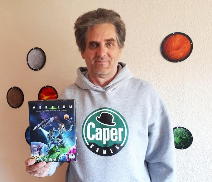 Designer with Vertium box cover