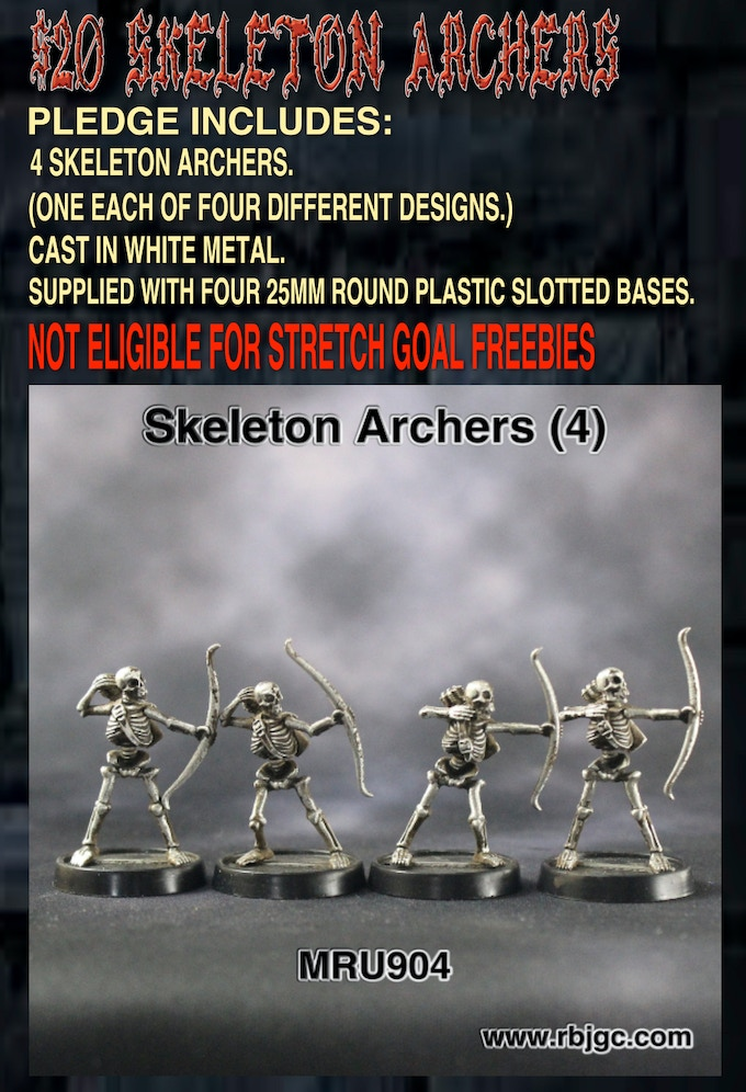 $20 SKELETON ARCHERS PLEDGE