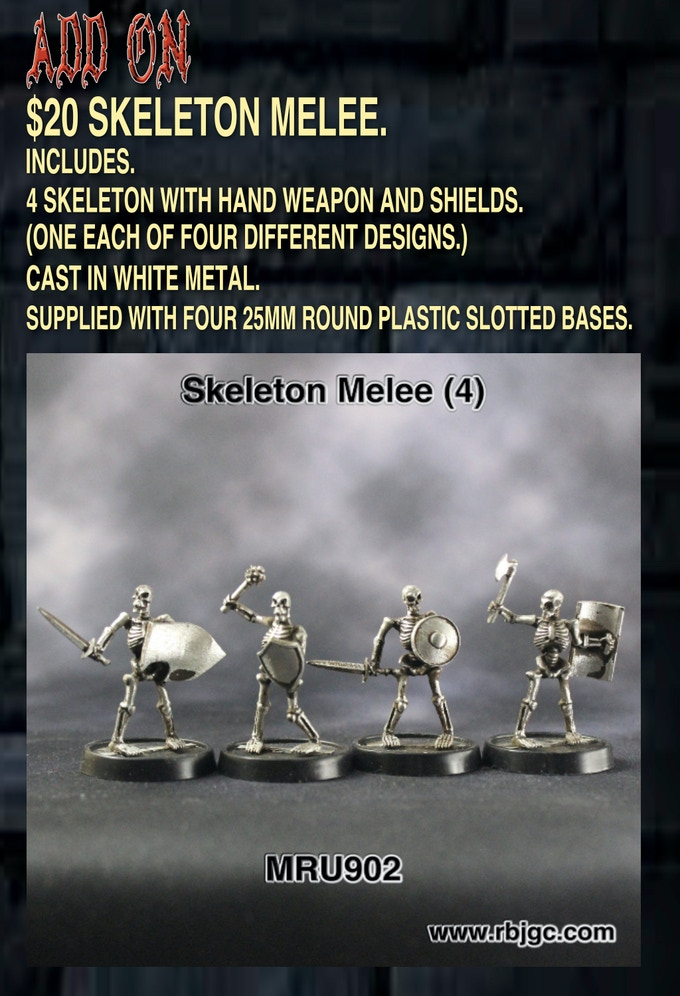 $20 SKELETON MELEE ADD ON