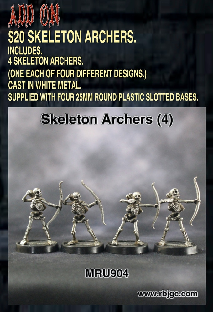 20 SKELETON ARCHER ADD ON