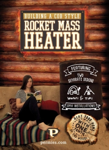 Building a Cob Style Rocket Mass Heater DVD