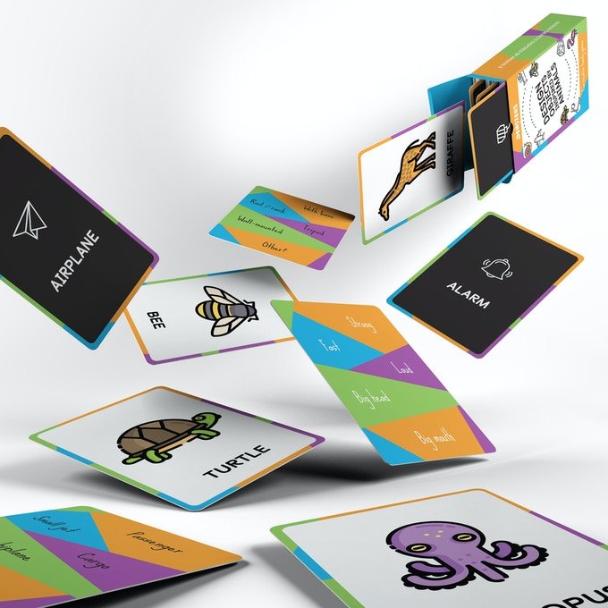 Densters card game - Design Objects Inspired by Animals