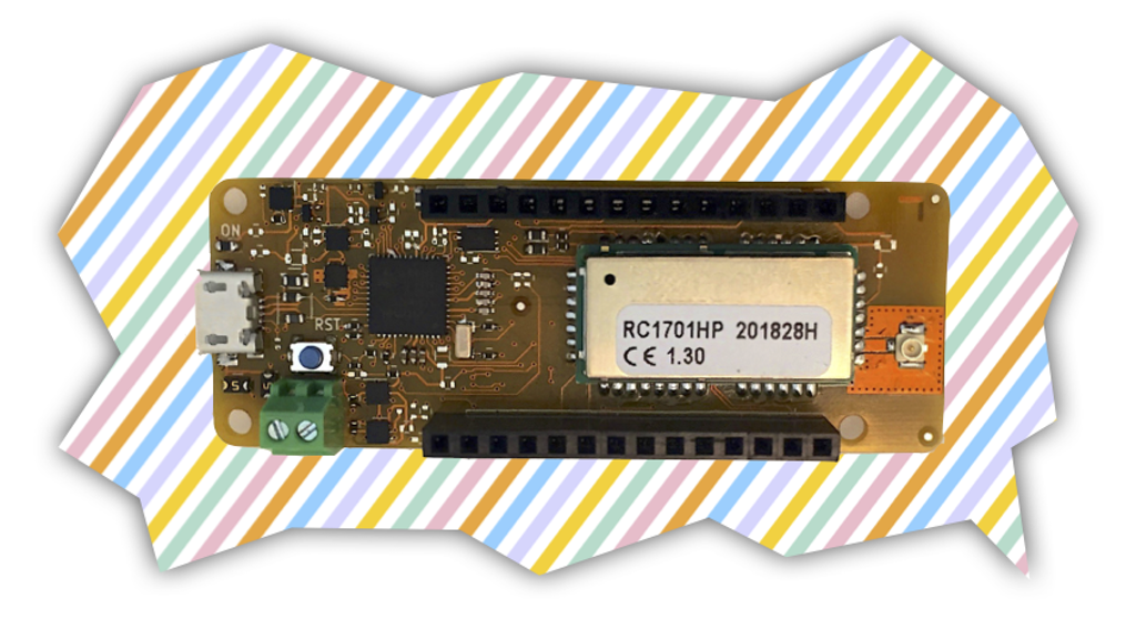 Extreme LPWA board for IoT using the Wize protocol project video thumbnail