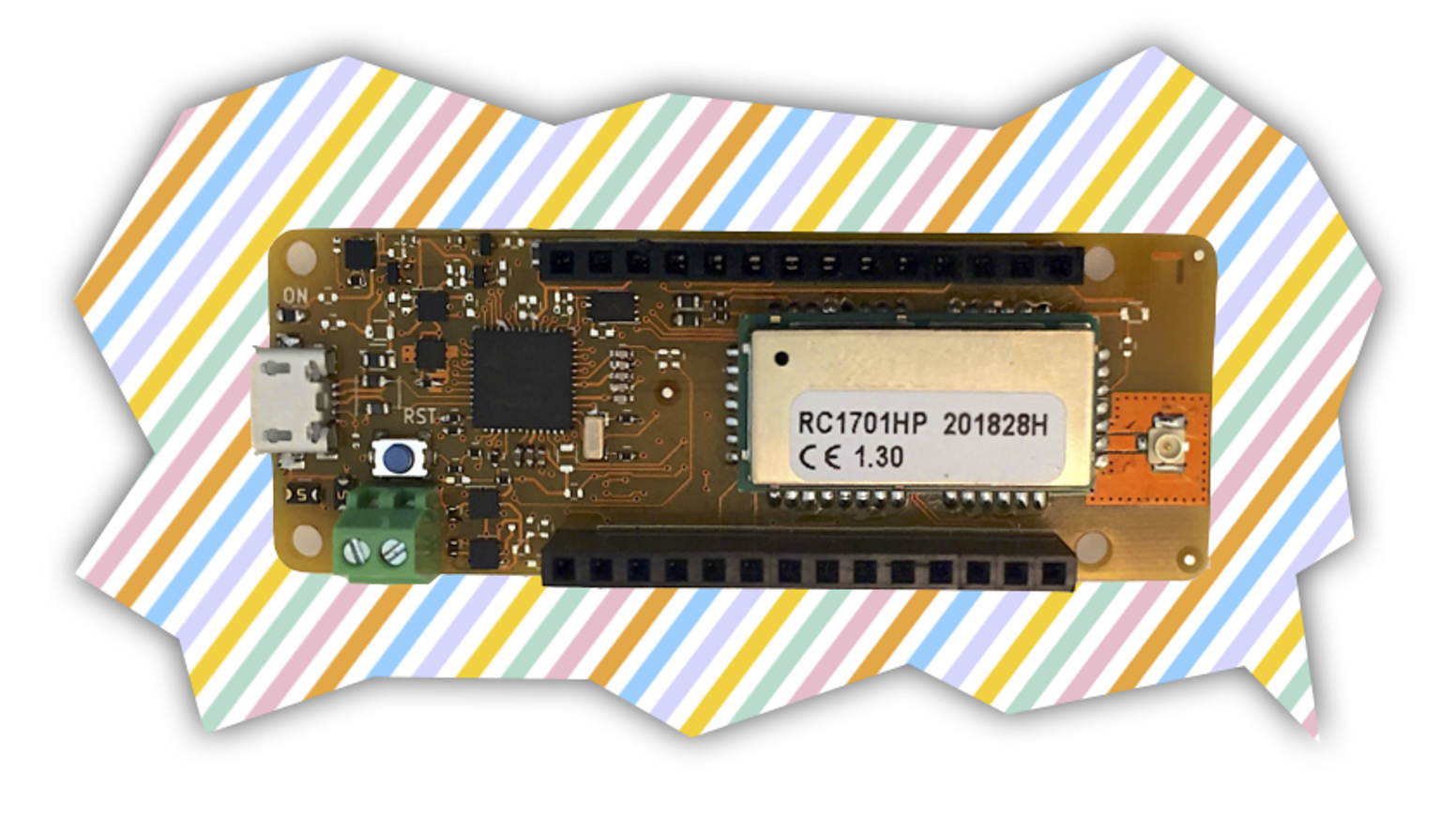 An Arduino compatible board for IoT using the stunning Wize protocol, providing extreme low-power and deep indoor communication.