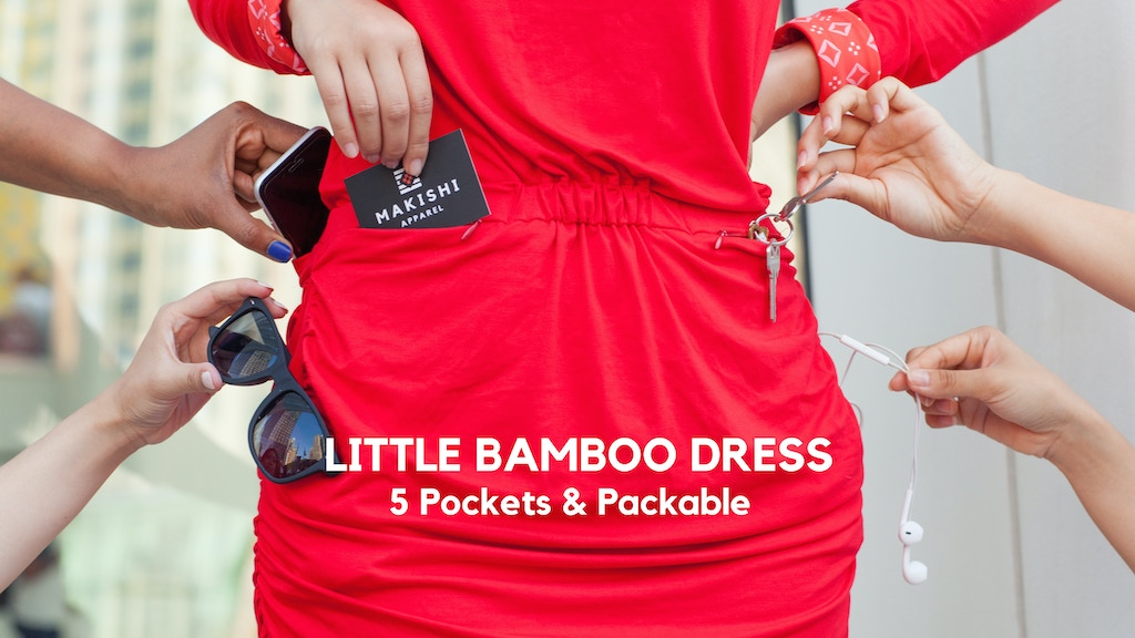 Little Bamboo Dress - 5 Pockets and Packable project video thumbnail