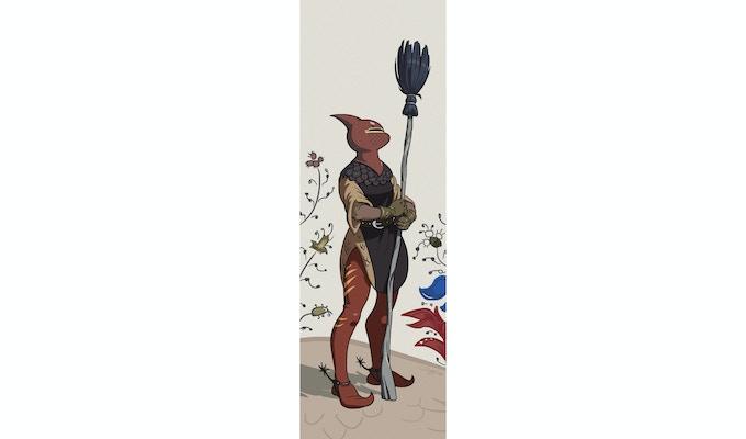 Broom Knight art by Angusburger @DeviantArt