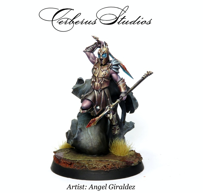 LAZARUS - Painted Mini (artist Angel Giraldez)