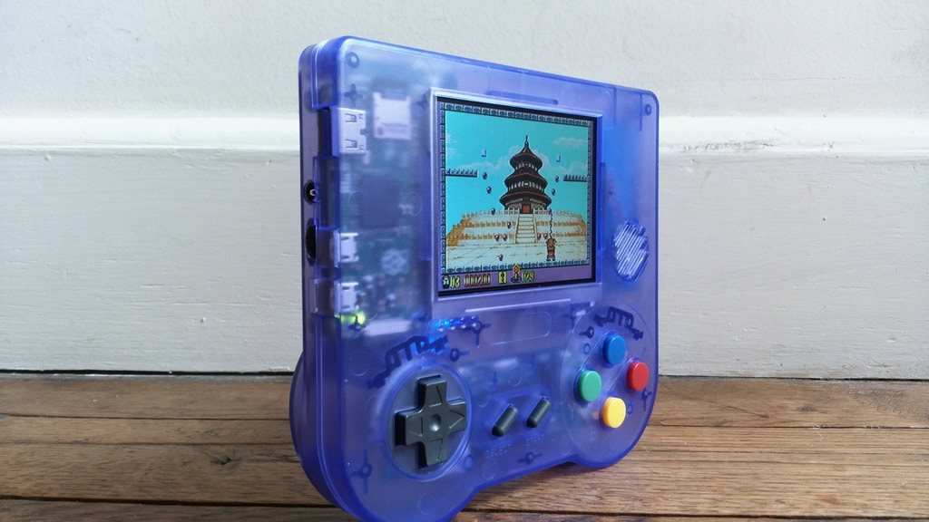 Raspiboy (revised) - Retrogame Console Electronic Kit by Pierre