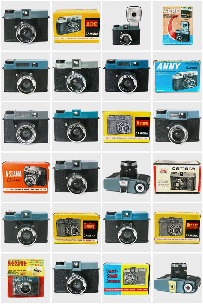 The Detrich Collection - World's biggest collection of original Diana cameras