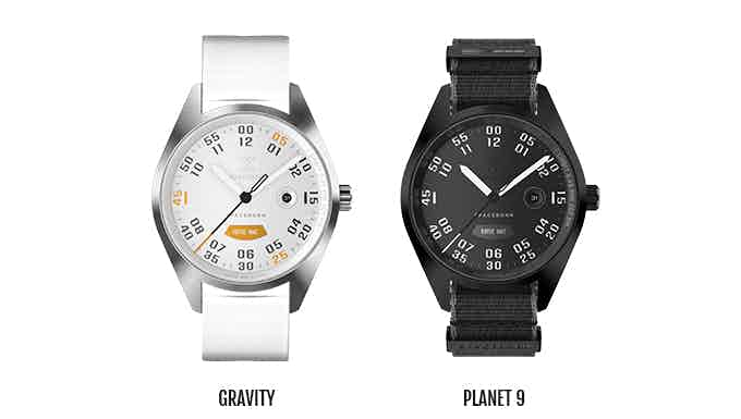 Gravity is a limited edition due to the limited amount of orange material on the rocket. All other material is used for our mechanical watches
