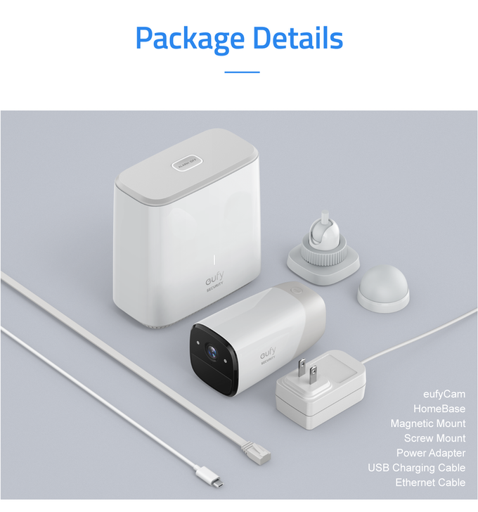 eufyCam: The Wirefree Security Cam with 365-Day Battery by