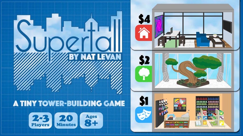 Supertall - A tiny tower-building game project video thumbnail