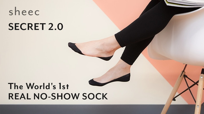 With over 1,000 backers on Kickstarter & Indiegogo, the SoleHugger Secret 2.0 is now fully available on Sheecs.com!