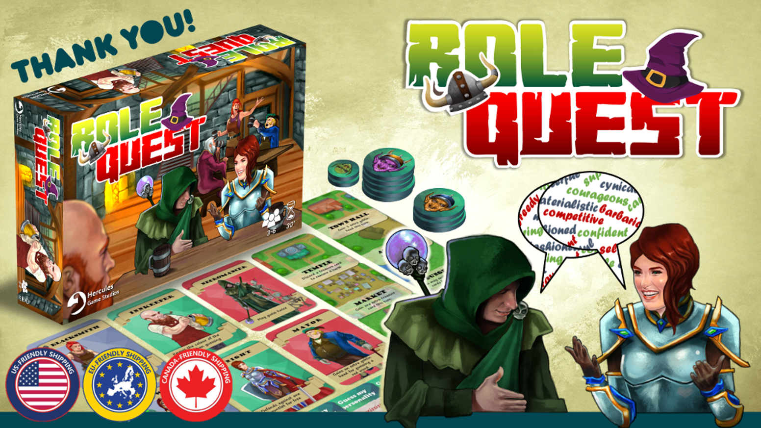 Role Quest is available to buy now.