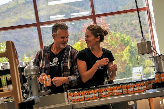 Tony and Jenn, co-founders of Roaring Fork Spice Company, Colorado