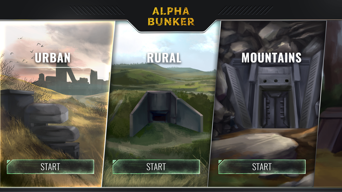 Where would you choose to build your bunker to survive the apocalypse?