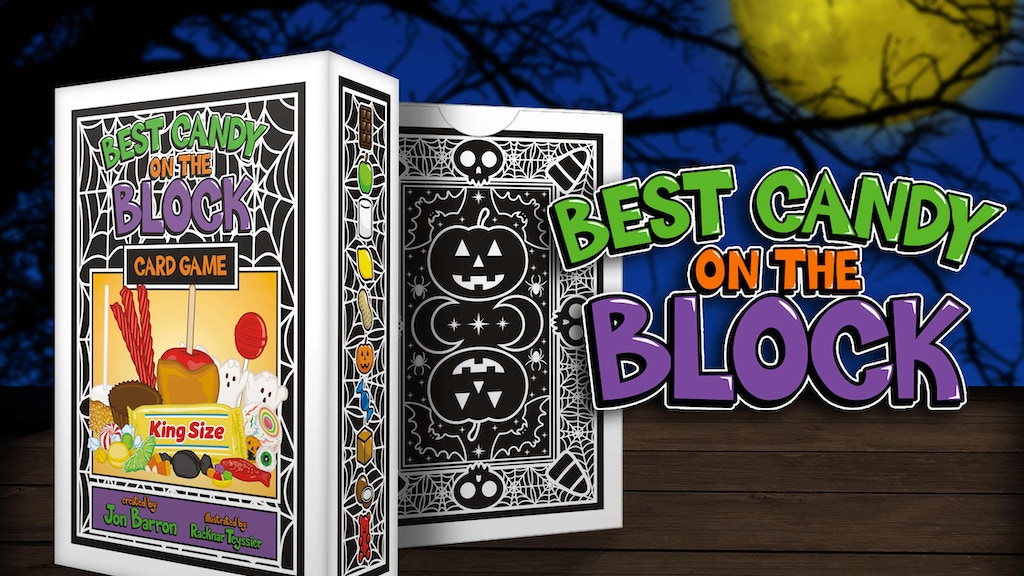 Best Candy on the Block: a Sweet Halloween Candy Card Game project video thumbnail
