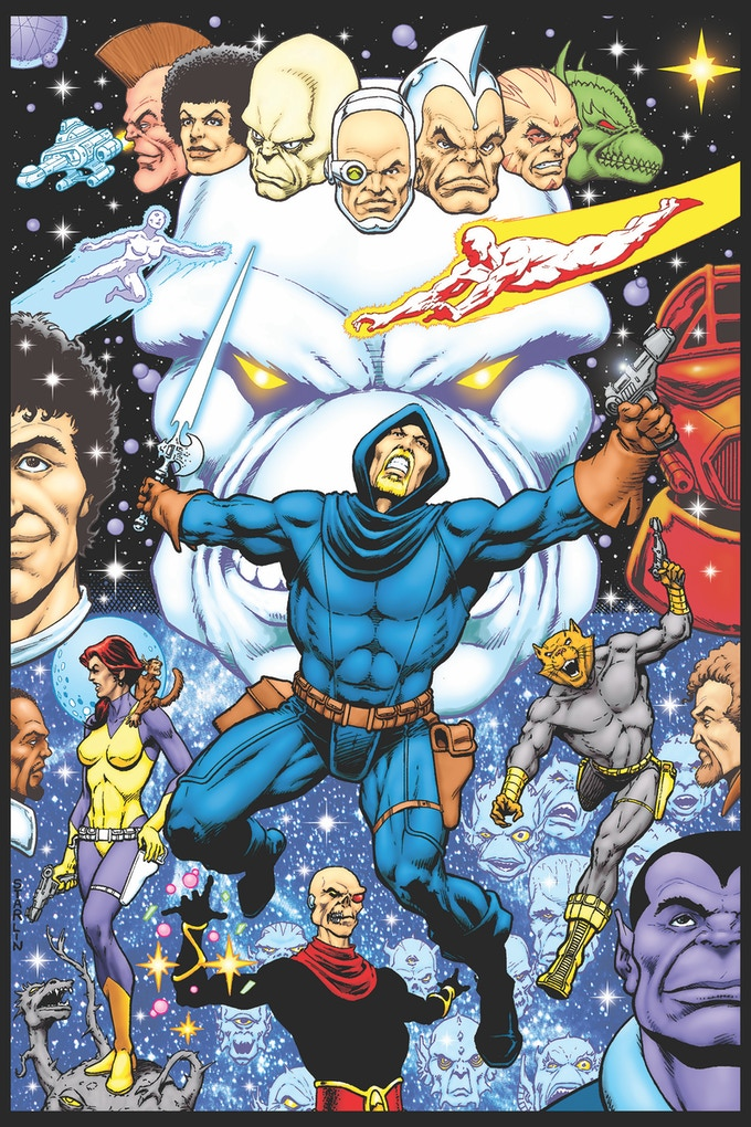 Dreadstar print by Jim Starlin (1st of 5 prints)