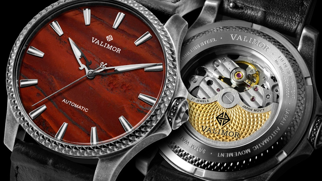 Caliburnus — A hand-Tooled Automatic Watch by VALIMOR project video thumbnail