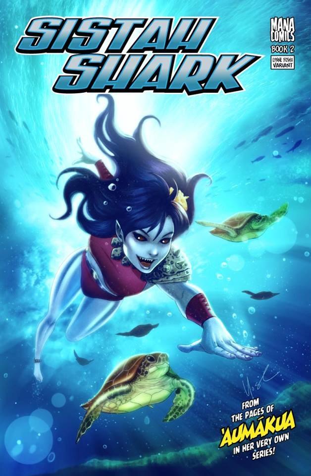 Sistah Shark #2 Lynne Yoshii Variant Cover