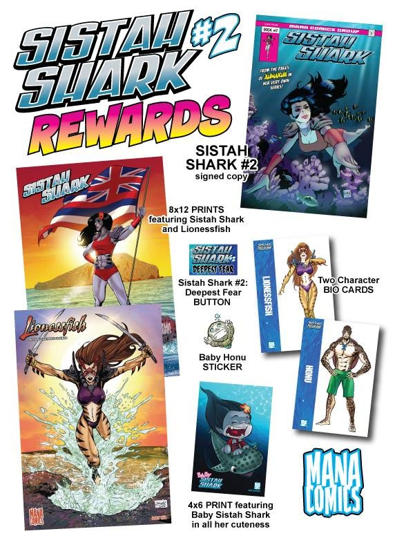 SISTAH SHARK #2 REWARDS