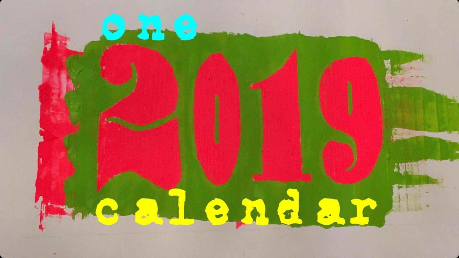 2019 Calendar by Wickham Works — Kickstarter
