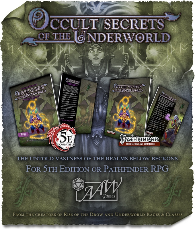 Occult Secrets of the Underworld by AAW Games — Kickstarter
