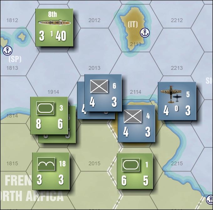 Land Combat Example