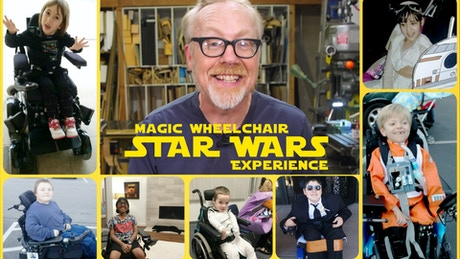 Magic wheelchair 39 s epic star wars fan experience by magic for Epic motors san diego