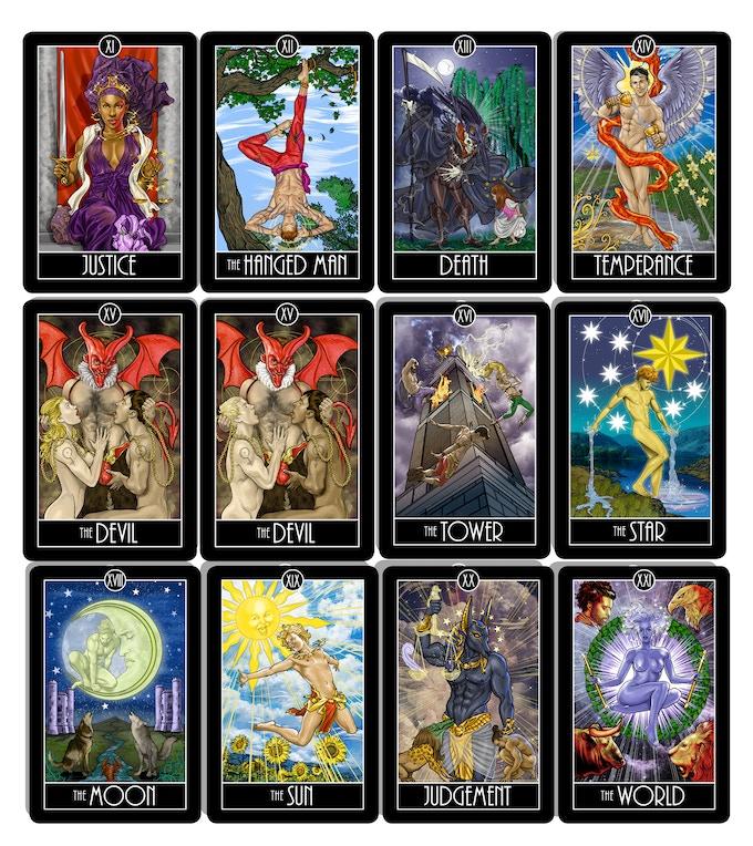 Tarot Cards By Comic Artist Joe Phillips By Joe Phillips