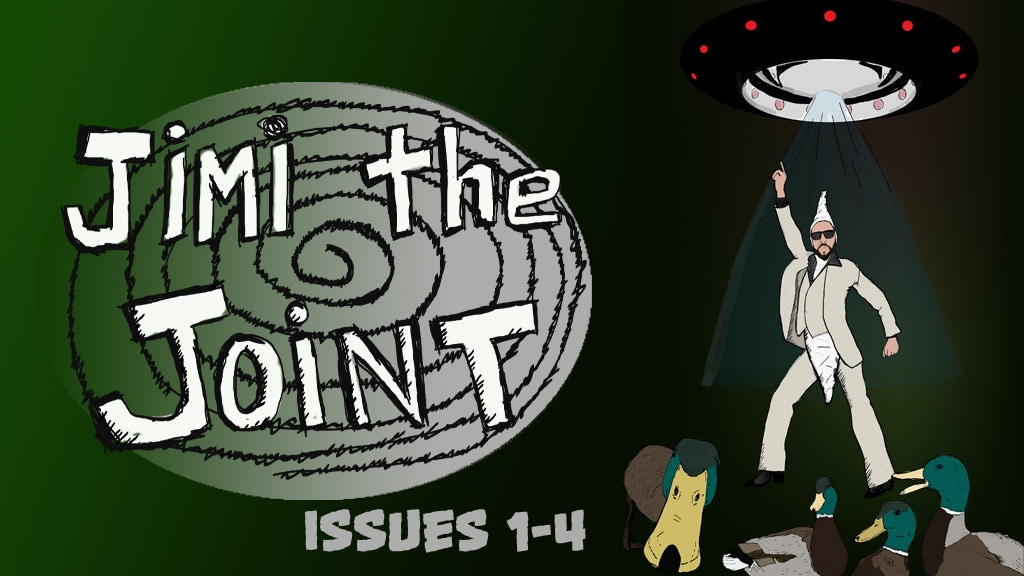 JIMI the JOINT issues 1-4 an UNDERGROUND comix collection project video thumbnail