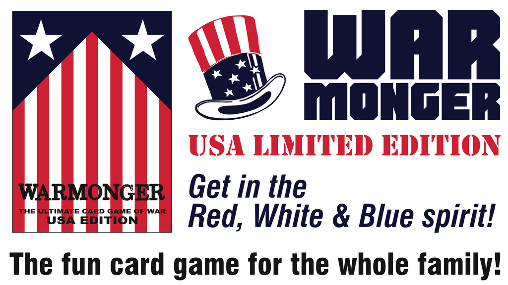 Quickstarter: Warmonger USA Limited Edition for 1-4 Players project video thumbnail