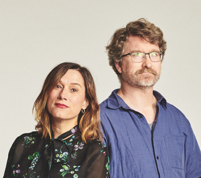 Jennifer and Kevin McCoy, photo by Bryan Derballa,  2018