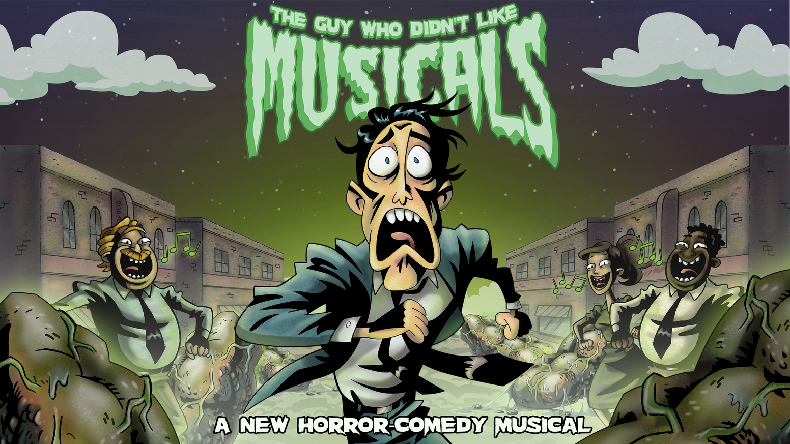 StarKid's 11th stage show, 'The Guy Who Didn't Like Musicals' is a new horror-comedy in which the world is transformed into a musical!