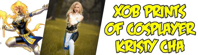 Xob prints of cosplayer/model Kristy Cha