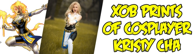 Xob prints of cosplayer/model Kristy Cha