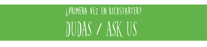 New to kickstarter? Ask us any question!