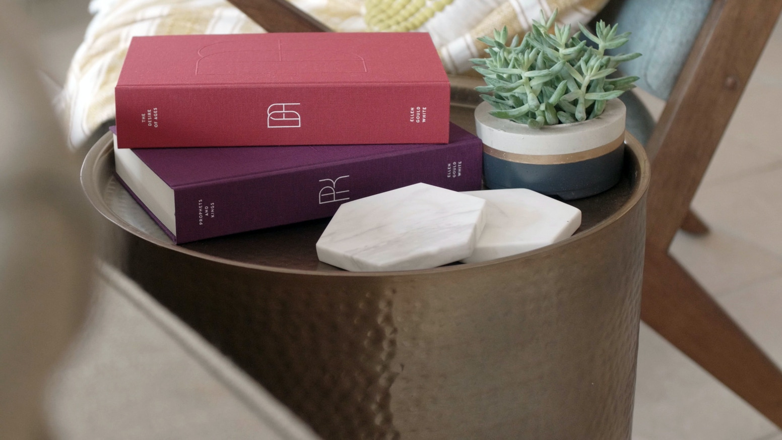 A new, heirloom-quality, NKJV edition of Ellen G. White's Conflict of the Ages series—books that match the beauty of the words and ideas inside.