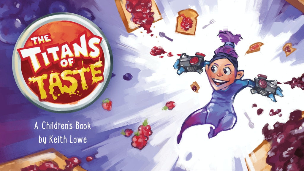 The Titans of Taste : A Kids Book about Food & Friendship project video thumbnail