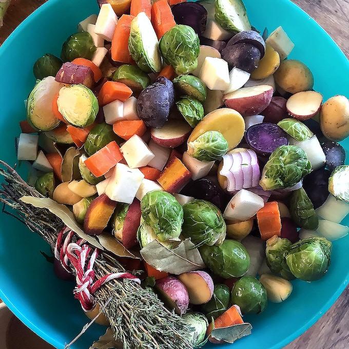 Veggies for Roasting.