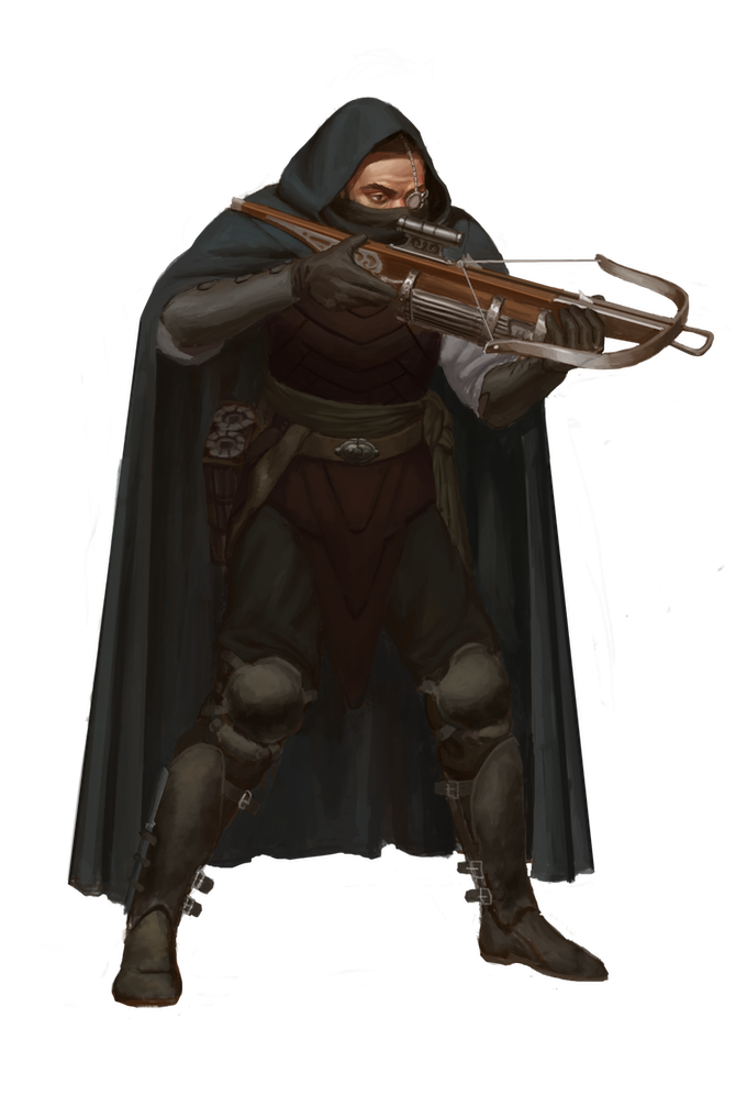 Wraith with Repeating Crossbow