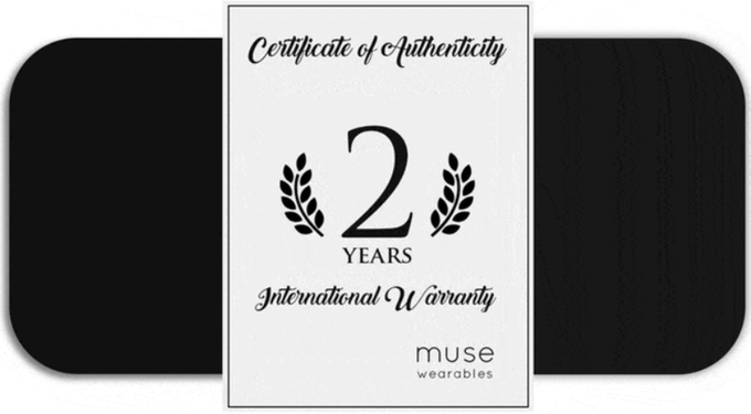 2 Year Warranty for Muse Watch
